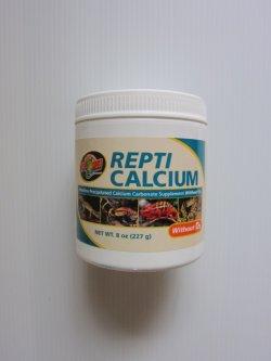 画像1: ZOOMEDズーメッド レプティカルシウム ビタミンDзなし 227g